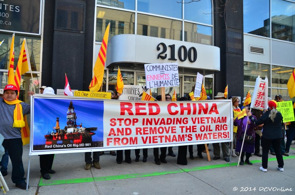 Trung Công, Ngung xâm lấn Việt Nam...