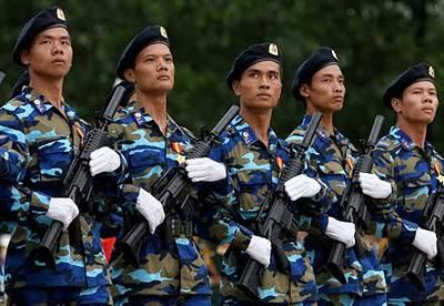 Cảnh sát biển CHXHCN Việt Nam. Nguồn: thefirearmblog