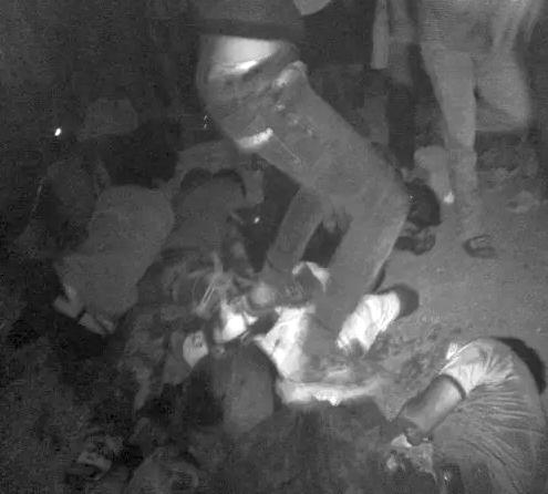 Bạo đông chết người ở Vũng Áng, Hà Tĩnh (14/5/2014). Nguồn: TTHN.