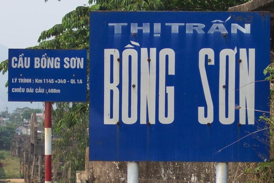THị trấn Bồng Sơn, Bình Định. Nguồn: OntheNet