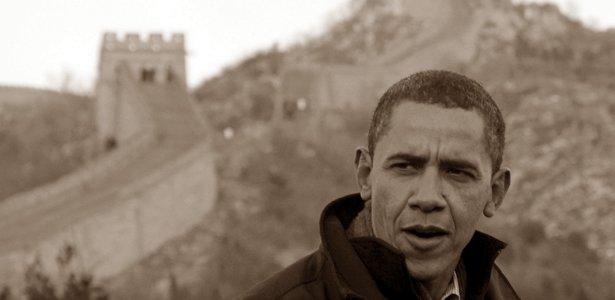 Tổng thống Mỹ Obama trong chuyến tahwm TQ năm 2009 .Nguồn: Reuters