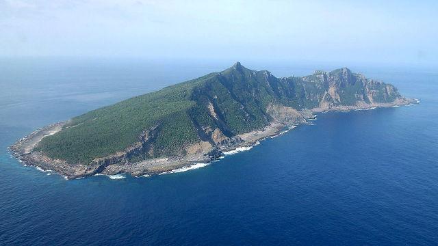 Đảo Uotsuri trong quần đảo Sensaku của Nhật nơi mà TQ cũng tuyên bố chủ quyền.  Nguồn: Hiroya Shimoji/EPA