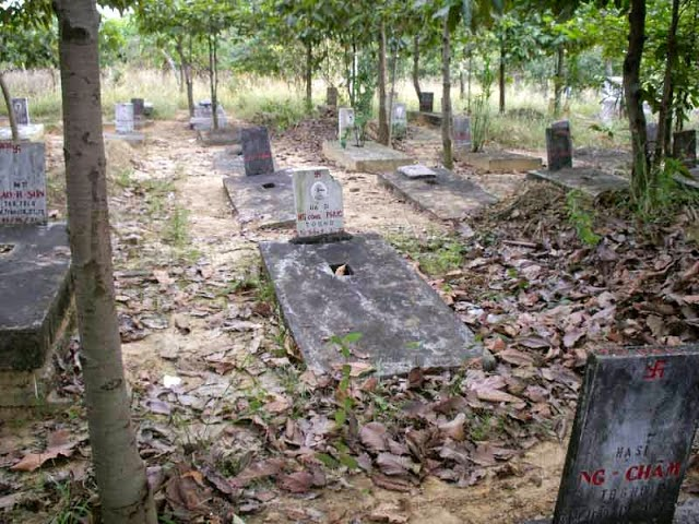 Nghĩa trang Quân đội VNCH tại Biên Hòa. Nguồn: OntheNet