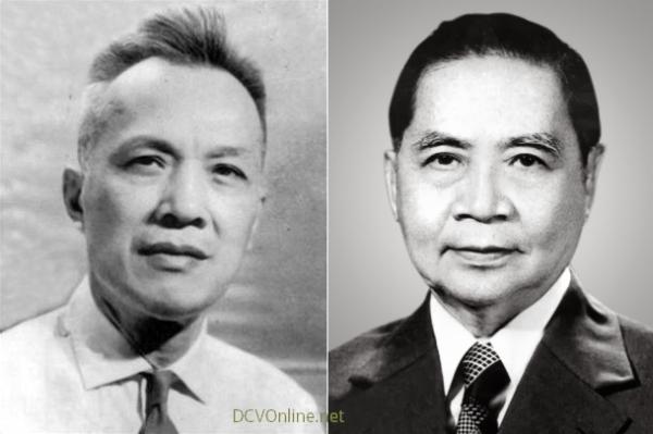 Nguyễn Hữu Thọ (T), Huỳnh Tấn Phát (P). Nguồn: OntheNet