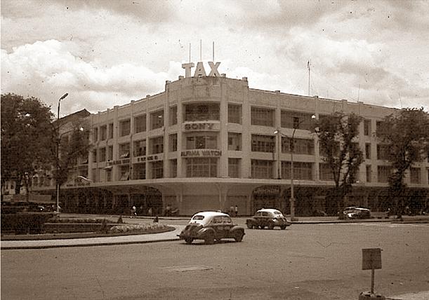 """""""Thương xá Tax"""" của Sài Gòn xưa."""