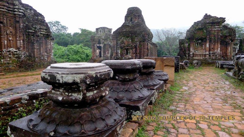 Đên Champa ở Mỹ Sơn. Nguồn: Ramdas Iyer/ramdasiyer.travellerspoint.com