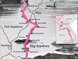 Đoạn sông Mekhong chảy qua Laos. Nguồn TBA.