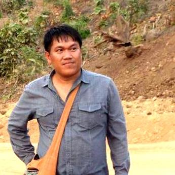 Nhà báo Aung Kyaw Naing. Nguồn: democracyforburma.wordpress.com
