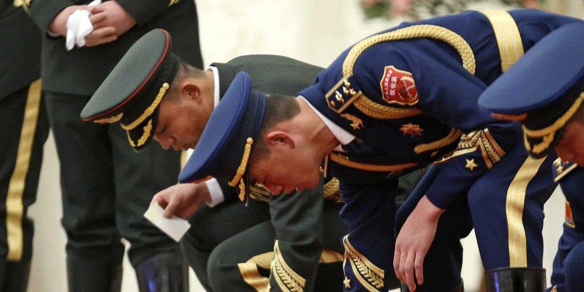 Hoa lục: Nguồn: Reuters / Kim Kyung-Hoon