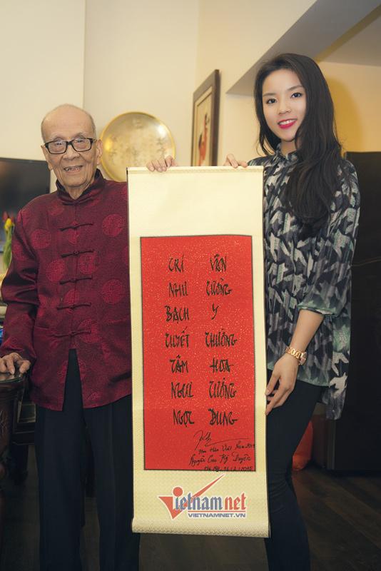 G.s. Vũ Khiêu Đạo thơ Lý bạch. Nguồn: Vietnam.net