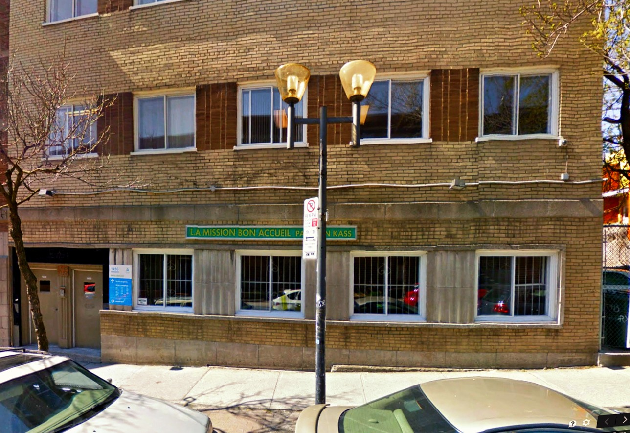 1450 Rue Beaudry, Montréal H2L 3E5. Trụ sở kinh tài của Hôi VKĐK thời Việt Nam bị cấm vận.