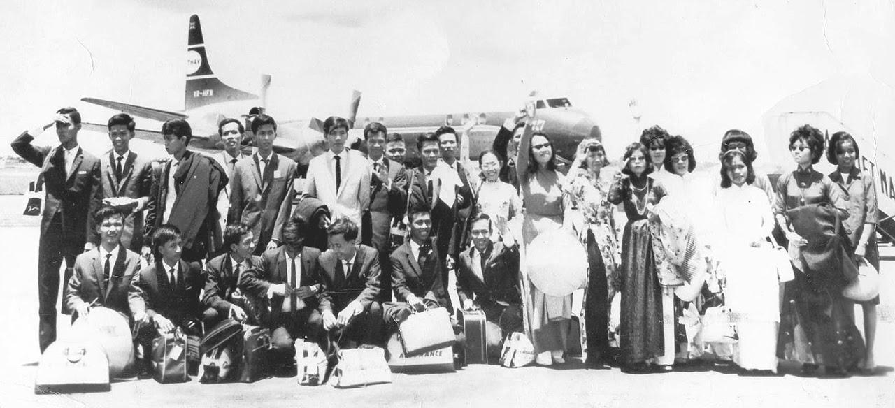 17 tháng 9, 1964, Ngày ấy chúng tôi đi, năm mươi năm về trước. Nguồn: NKP
