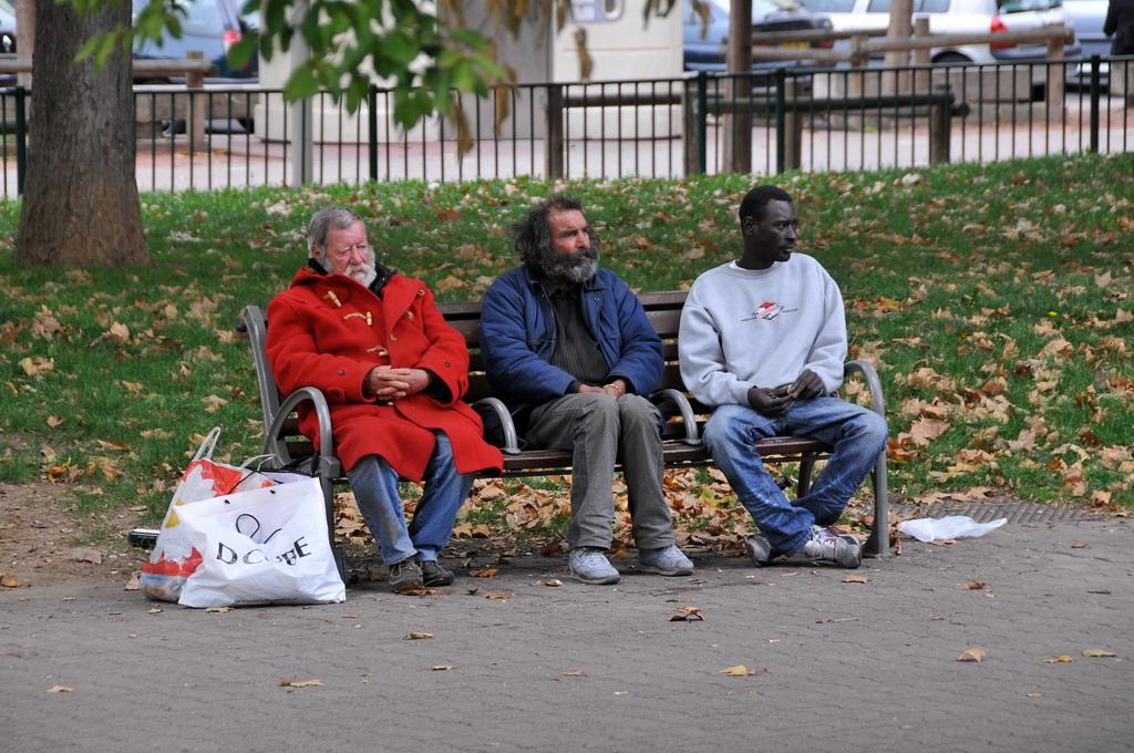 'Clochards' Place Carnot Lyon. Nguồn:  FaceMePLS/Flickr.com