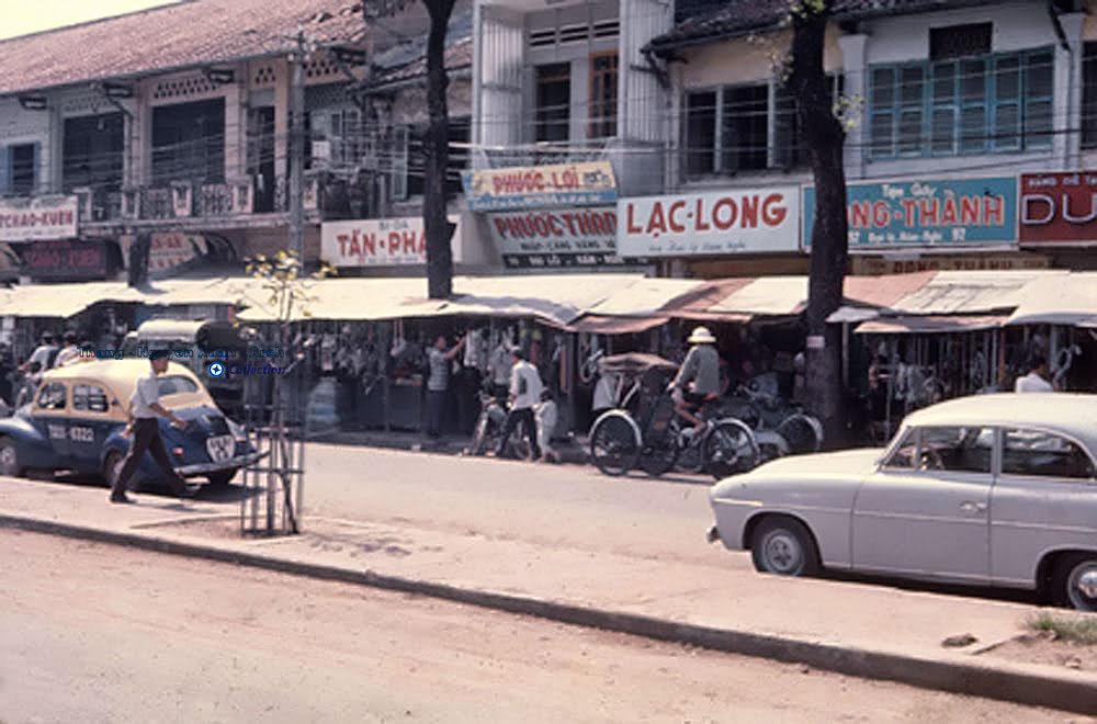 Đường Hàm Nghi - Sài Gòn 1967, ngày ấy tôi đi. Photo: Donald Jellema