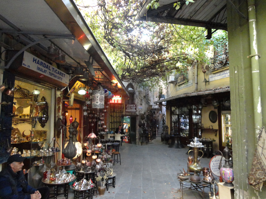 Tiệp chạp phô ở Istanbul. Nguồn: Bilouk-25/Flickr