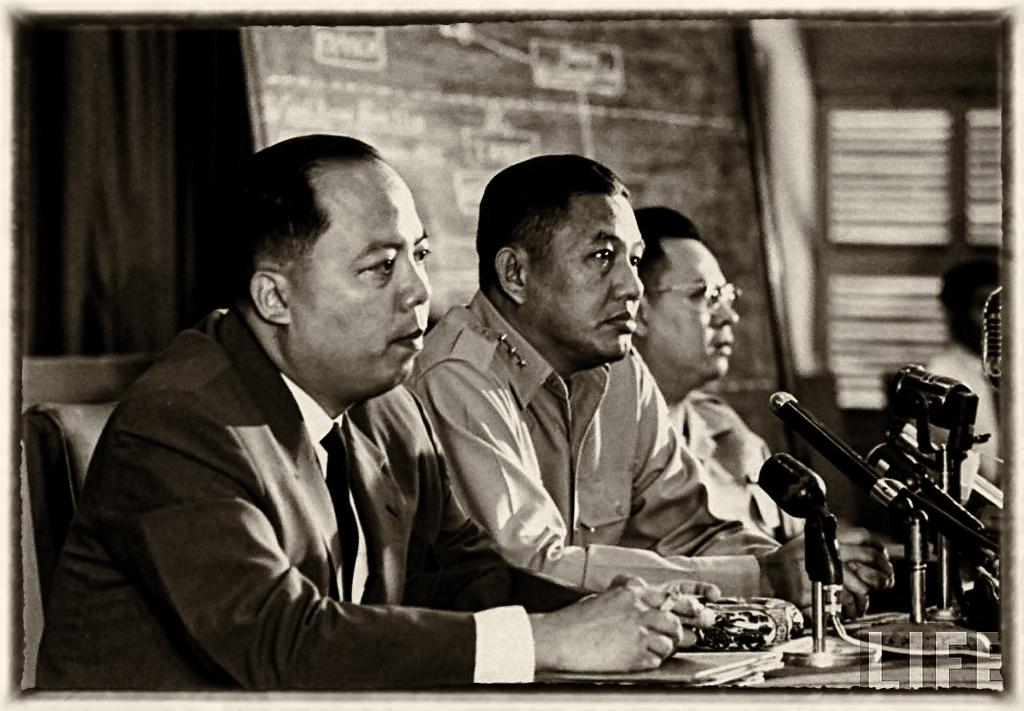 Tam đầu chế Khanh-Minh-Khiêm, Saigon tháng 9, 1964