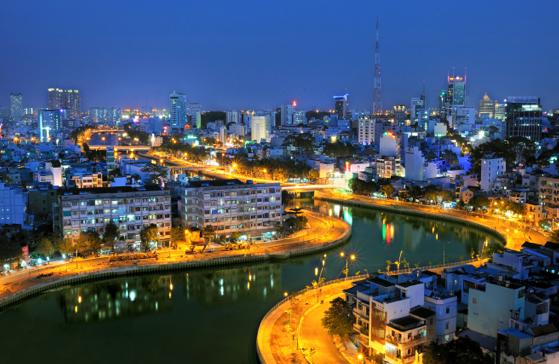 Cản Sài Gòn Mới veeff đêm. Nguồn:  OntheNet