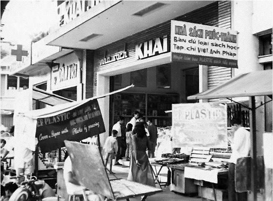 Nhà sách Khai Trí Saigon. Nguồn: OntheNet