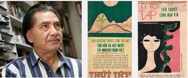 Chân dung tác giả Viên Linh và tạp chí Thời Tập do ông chủ trương trước 1975. Nguồn: http://camvan98.blogspot.ca/