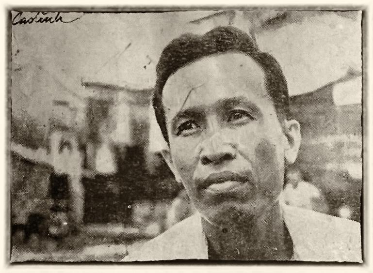 Võ Phiên trên bìa tạp chí Văn 1974. Ảnh Trần Cao Lĩnh