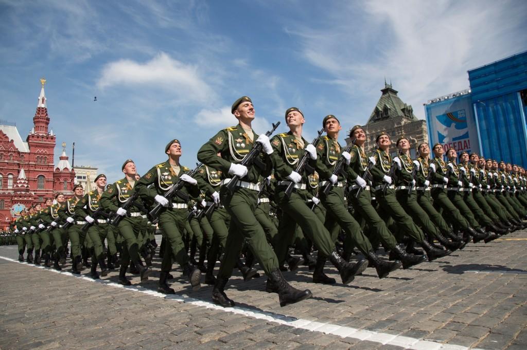 Diễn binh Ngày Chiến thắng (9 tháng 5, 2015) tại Quảng trường Đỏ, Moskva, Russia.