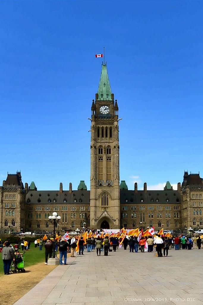 Ottawa ngày 30 tahsng Tư, 2015. Ảnh: DTC