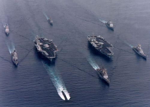 Chiến hạm của Hạm Đội Lữ Đoàn Lưu Động 3? Nguồn: Marines