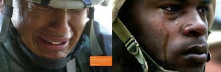 Ai nói lính không biết khóc ở chiến trường? Nguồn: DCVOnline tổng hợp