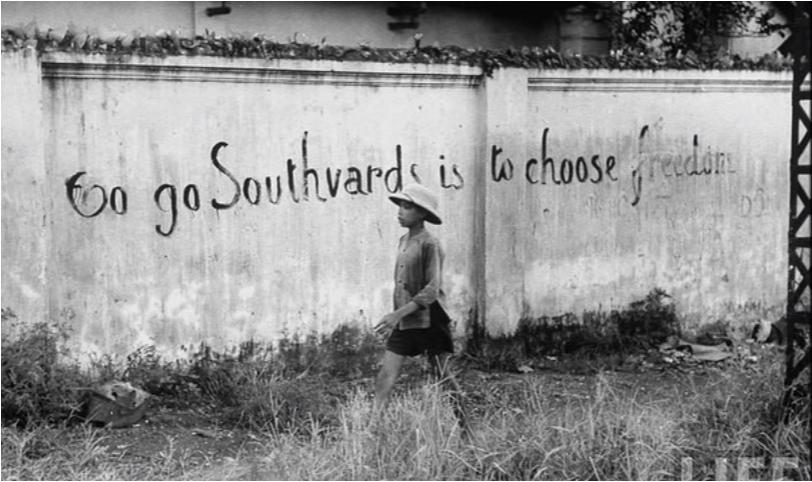 Vào Nam là chọn Tụ do. Nguồn: LIFE