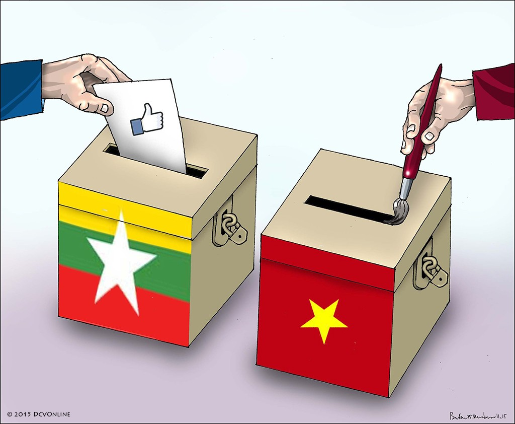 Myanma vs. Vietnam. Tranh Babui