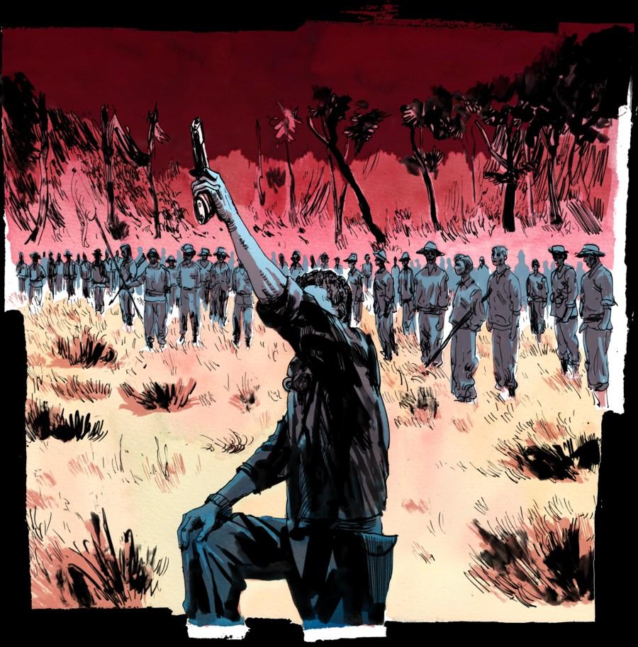 Hình minh hoạ Mặt Trận ở Ubon, Thái Lan. Nguồn propublica.org