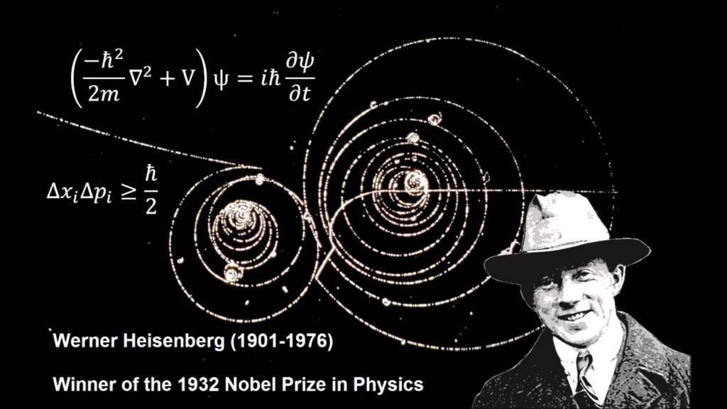 Nhà vật lý lượng tử Werner Heisenberg. Nguồn:  https://www.youtube.com/watch?v=xbpOMkBMtYU