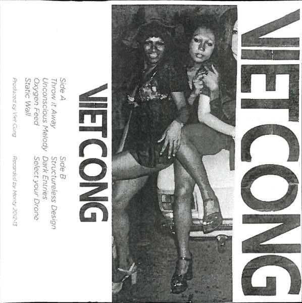 Bìa Cassette Viet Cong, tự phát hành, Calgary, AB