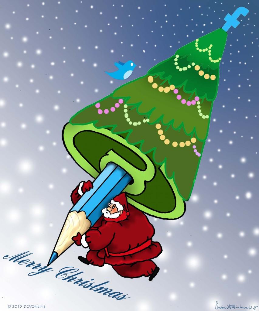 Merry Christmas. Tranh Babui.