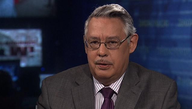 Nhàn báo Juan Gonzzalez, hiện là một trong hai người điều hành chương trình Democracy Now! Nguồn: democracynow.org