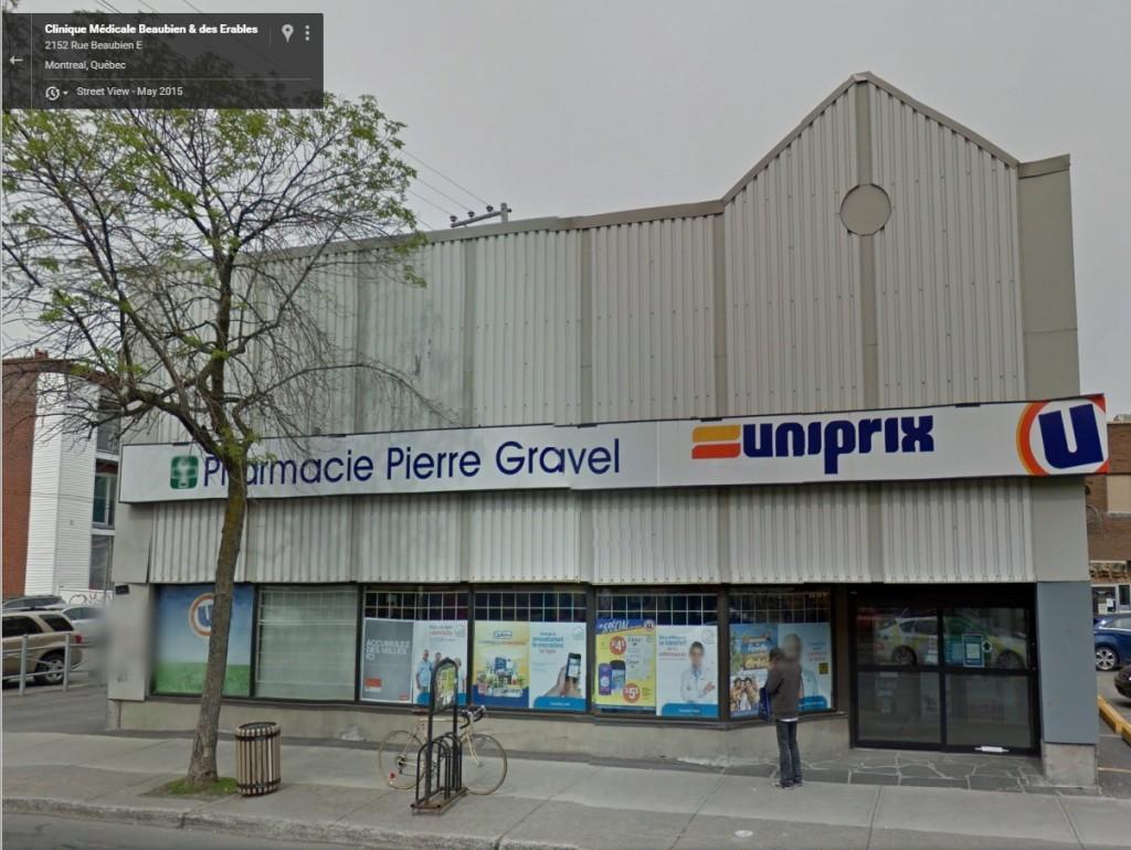 Phòng y tế Baubien và Des Erables. Nguồn Google Máp.