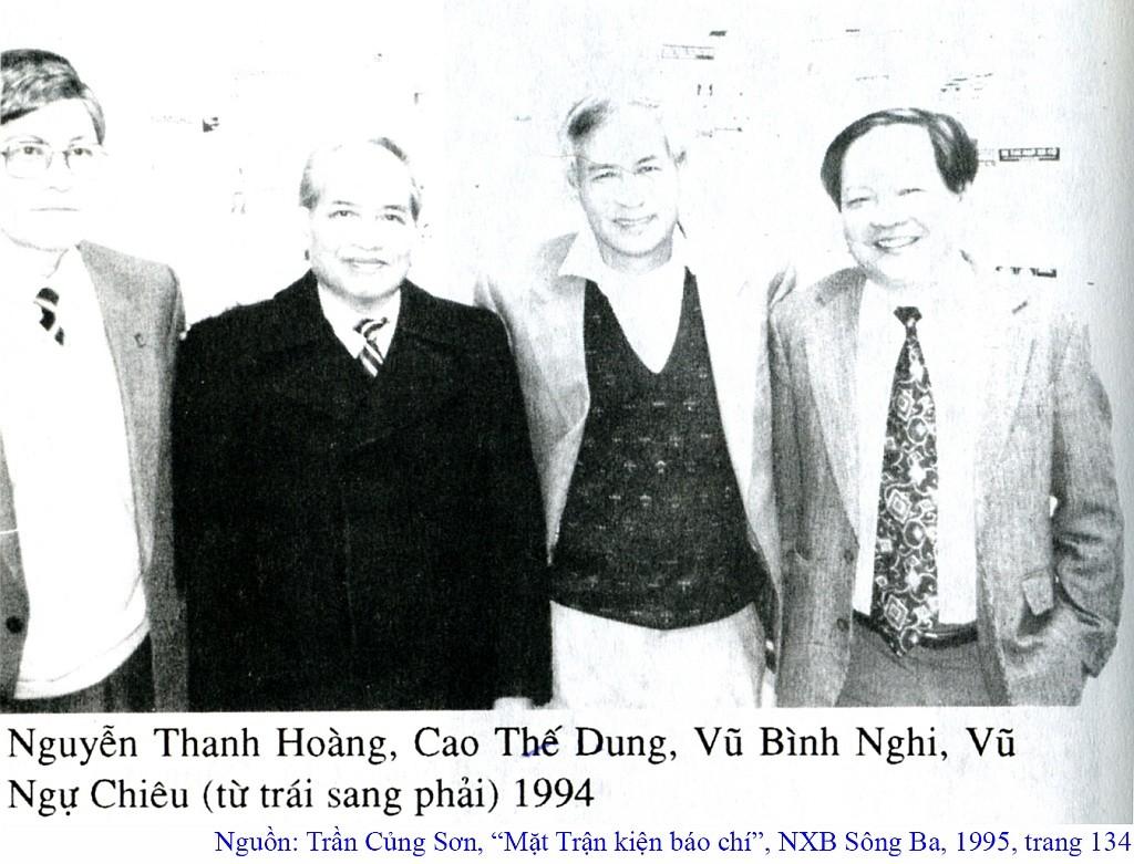 Nguồn: Trần Củng Sơn, Mặt Trận Kiện Báo chí