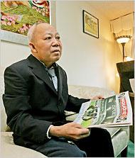 Ông Đỗ Ngọc Yến, chủ nhiệm báo Người Việt. Nguồn: Monica Almeida/TNYT