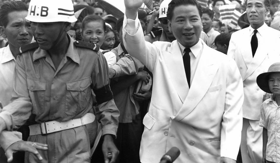 Tổng thống Ngô Đình Diệm, người được trao thiên mệnh (Geofrey Shaw). Nguồn: OntheNet.