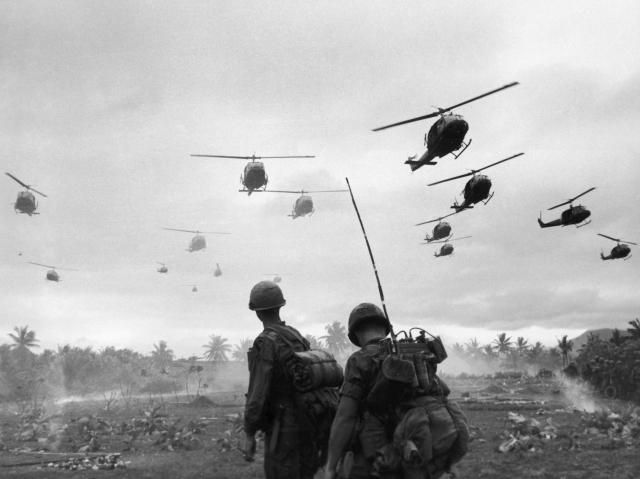 Quân đội Mỹ ở Việt Nam. Nguồn: Getty Immages