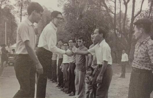 Nguyễn Phương tại St-John's islan, Singapore (Thờii tị nạn cộng sản sau 1975). Nguồn LMK