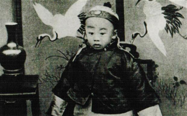 Phổ Nghi, Hoàng DDEss sau cùng của Trung Hoa. Nguồn: telegraph.co.uk
