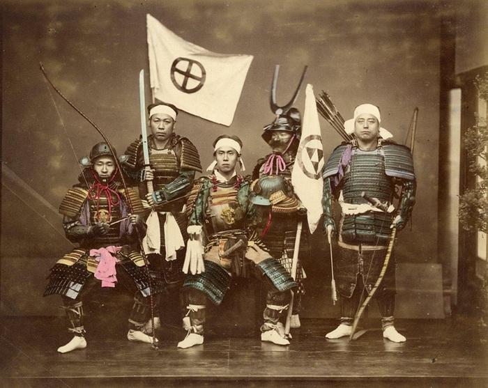 Võ sí đạo Nhật Bản (1860s). Nguồn:  Felice Beato