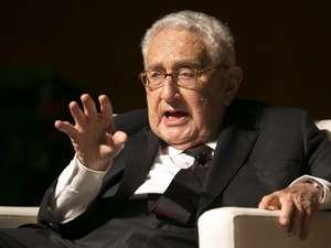 Henry Kissinger tại thư viện LBJ đại học Texas tại Austin, TX - 26 tháng Tư, 2016. Nguồn: Jay Janner