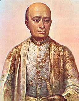Quốc Vương Thái Lan Buddhaloetla (Rama II) 1809-1824. Nguồn: chiangmai-mail.com