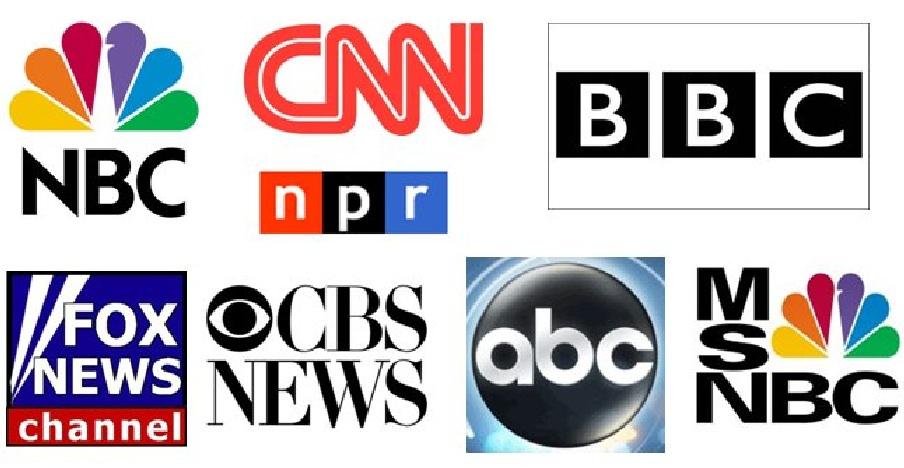 Giới truyền thông dòng chính của Hoa Kỳ. Nguồn: OntheNet