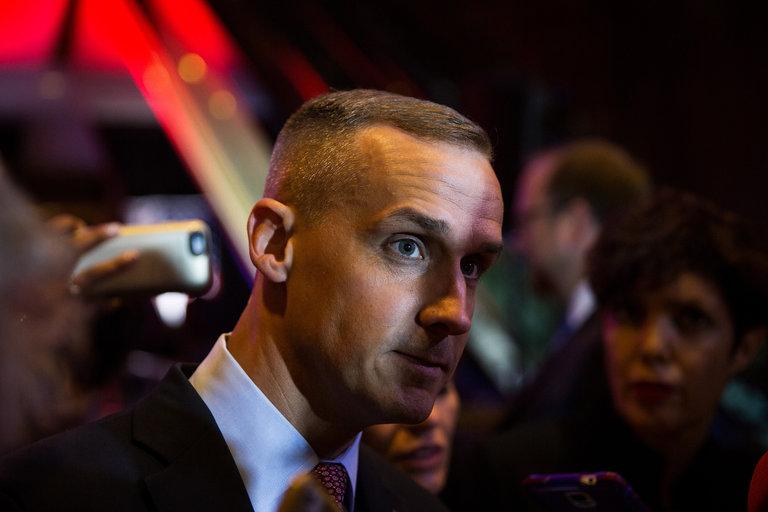 Corey Lewandowski, tại  Trump Tower  ở New York vào đầu tháng, đã hướng dẫn cuộc vận động tranh cử của Donald J. Trump, đến nay (20/6/2016). Nguồn: Damon Winter / The New York Times