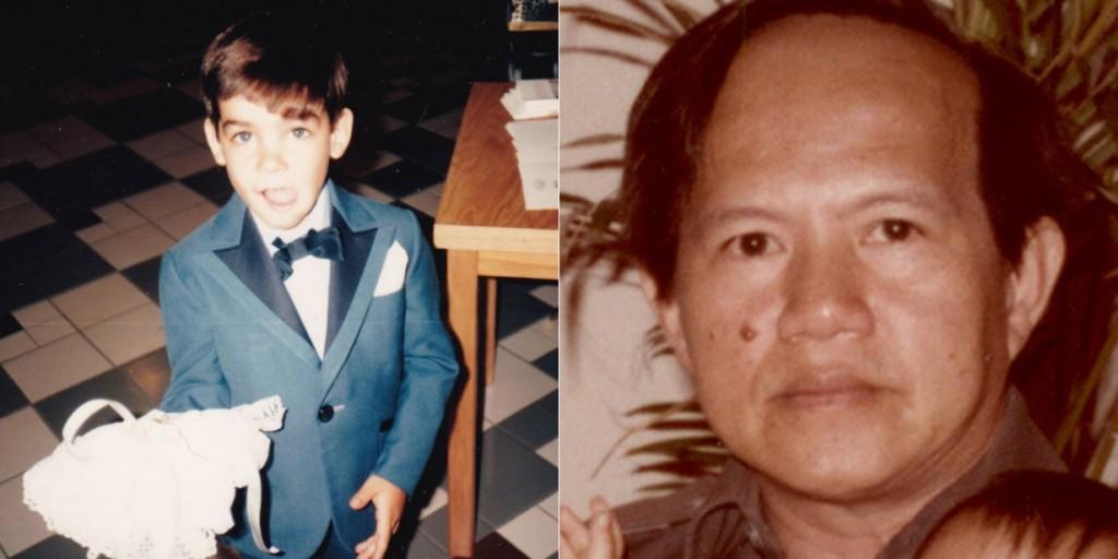 (T)  Bé Denis-Roux Bergevin (5 tuổi) bị sát hại năm 1985. (P) Nhà báo Nguyễn Đạm Phong bị ám sát năm 1982.