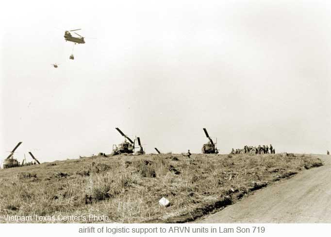 Không vận hậu cần trong Chiến dịch Lam Sơn 719.