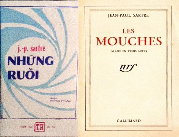 """Những Ruồi (1967) và """"Les Mouches"""" (1947)"""